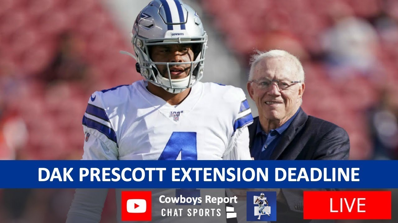 Dak Prescott, Cowboys don't agree to long-term deal before deadline