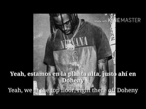 Travis Scott - goosebumps (Lyrics english-subtitulos español)