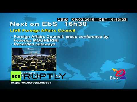 LIVE: Foreign Affairs Council meeting in Brussels
