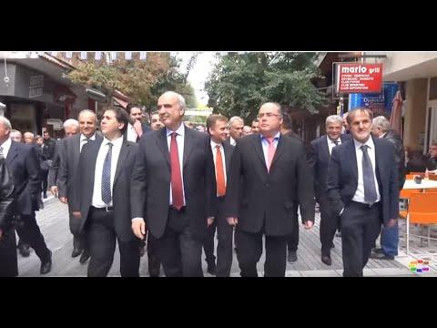 Кандидатите за лидер на Нова Демократија бараат поддршка преку името на Македонија