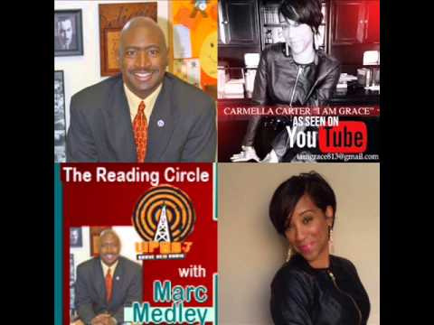 Carmella Carter Appears on The Reading Circle with Marc Medley