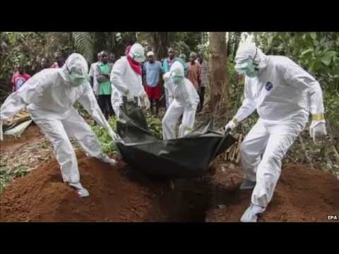 """EBOLA DEATH"" CAUGHT ON CAMERA 2 EBOLa Virus"