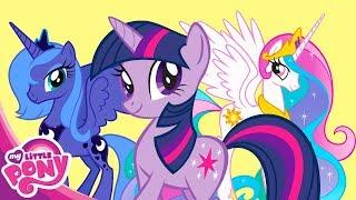 Мультики Дружба - это чудо про Пони - Принцесса Искорка 2часть
