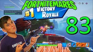 83 Eliminations in Solo Match Win (Zombies & Players) FORTNITEMARES is a BLAST - NinjaFury