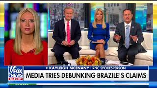 Kayleigh McEnany: I Was Told by CNN Donna Brazile Someone to be 'Respected, Revered'