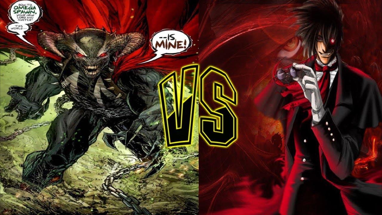 Section Xix Fantasy Fight Omega Spawn Vs Alucard Youtube