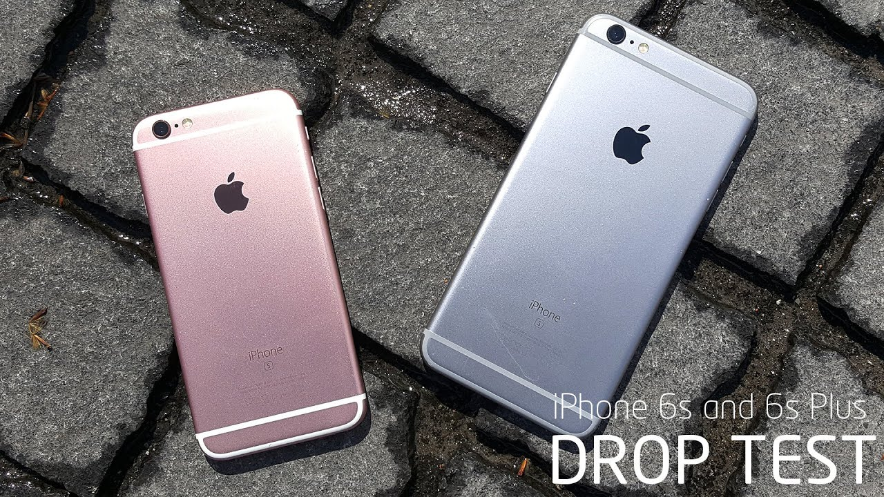 iphone drop test iphone 6s and 6s plus drop test 11808