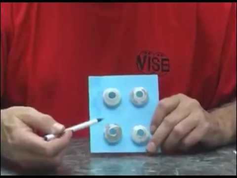 Vise Inserts Original ITS Slug System introducing for Interchangeable Bowling Ball Slugs