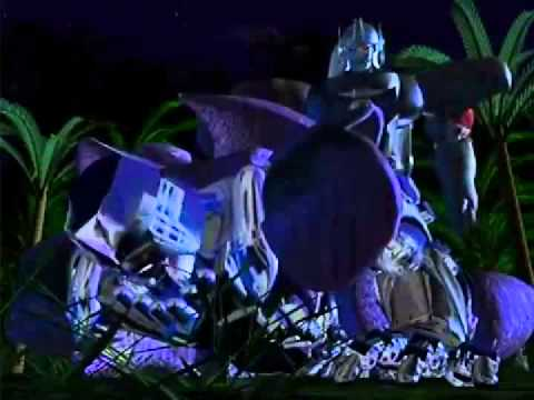 beast wars transformers optimus primal vs megatron call