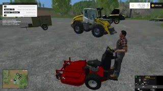 Heute stelle ich euch das Rasenpflege set V 1.0 Mod für Landwirtschafts Simulator 15 vor.