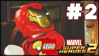 LEGO Marvel Superheroes 2 - Part 2 - 3 Teams! (HD Gameplay Walkthrough)