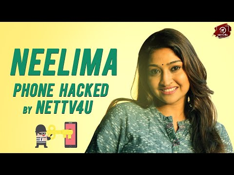 Neelima Rani Phone Hacked By Nettv4u | Exclusive Interview | What's On My Phone?