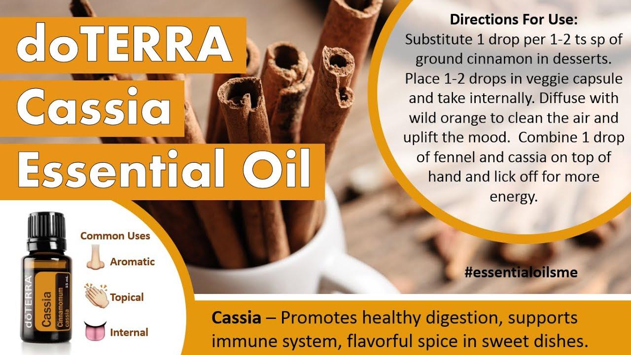 how to take cinnamon essential oil internally