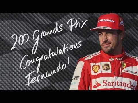 Fernando Alonso: 200th F1 race from Minardi to Ferrari