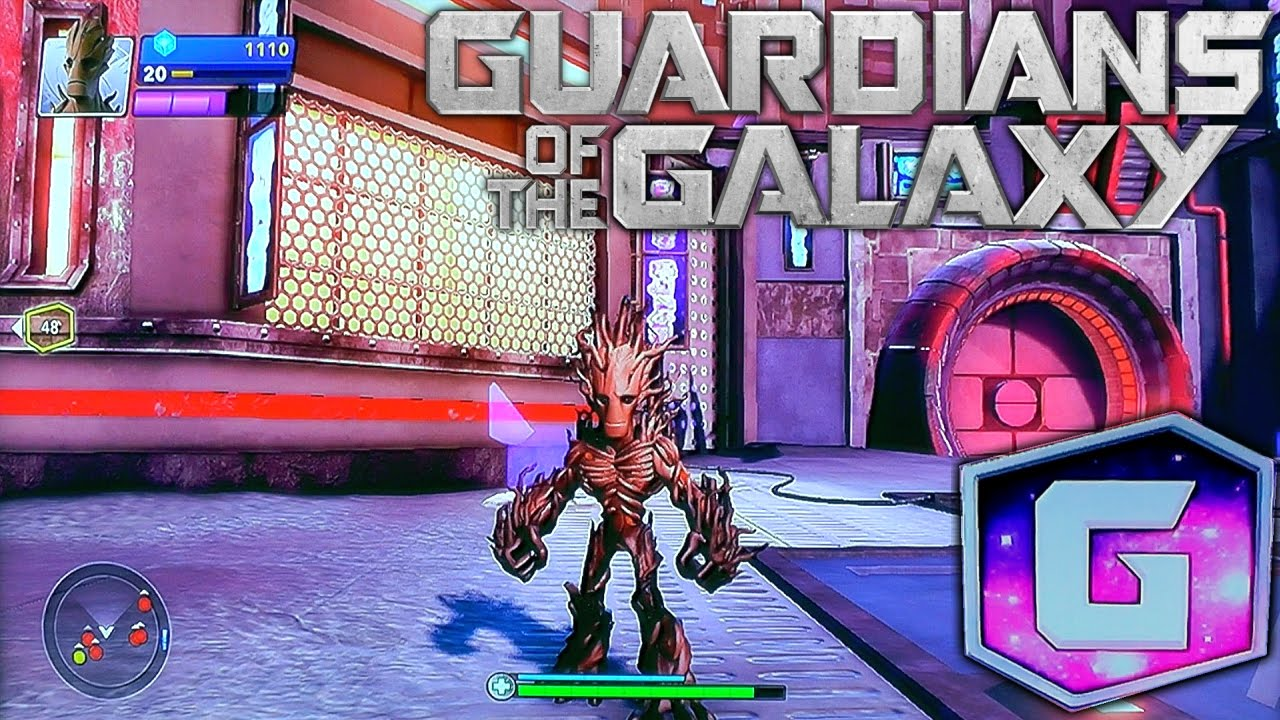 Let's Play Disney Infinity Guardians of the Galaxy - First 30 Minutes (1 of 6)