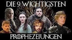 Review der 9 wichtigsten Prophezeiungen in Game of Thrones: die schon erfüllten und die noch offenen