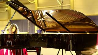 Fazil Say Black Earth. Saida Zulfugarova piano Mukaddas Mijit danse.