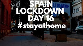 Spain crisis update day 16 - Non-essential jobs stopped
