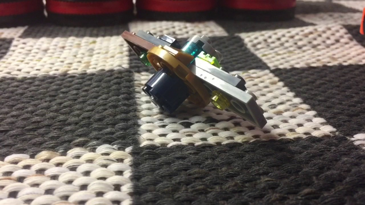 how to make lego spinner