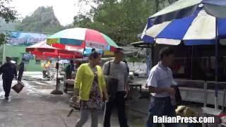 [4K] 中国 大連観光  冰峪溝(荘河市)の観光紹介 #2