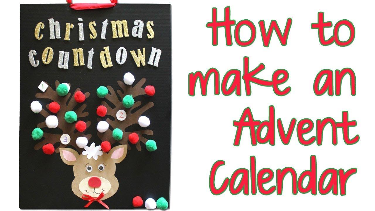 Make A Christmas Advent Calendar Chocolate Free