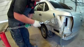 Лада Гранта ремонт и окраска в Нижнем Новгороде