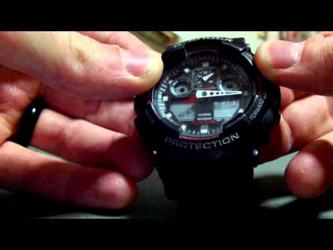 casio g shock 5081 manual