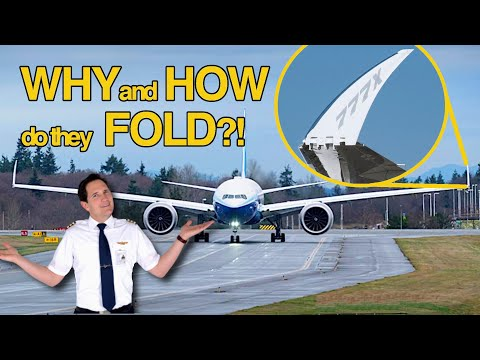 WHY do the WINGTIPS fold and WHAT are the BENEFITS?! Explained by CAPTAIN JOE