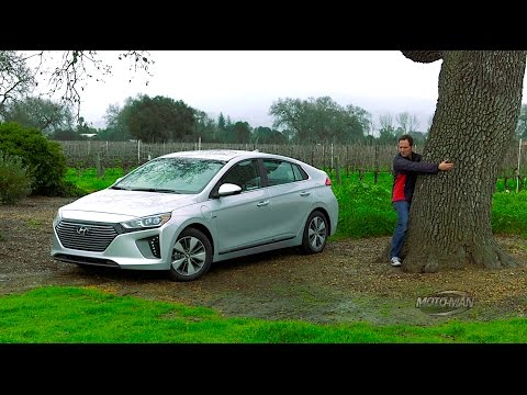 Is the 2017 Hyundai Ioniq better as a Plug In? PHEV PRE-PRODUCTION PROTOTYPE FIRST DRIVE REVIEW