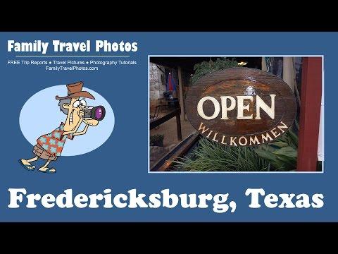 Fredericksburg Texas Weekend Vacation 2015 - Wine, Pioneer Museum, B&B Review and Trip Report