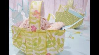 How To Make A Mini Easter Basket
