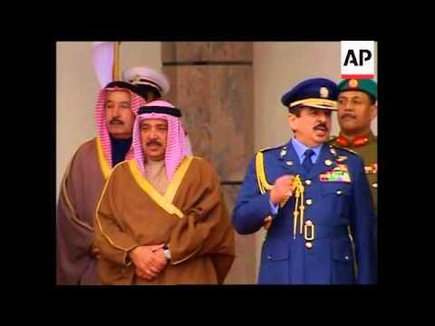 WRAP Bush breakfasts with US Navy 5th Fleet, leaves Bahrain, arrives in UAE