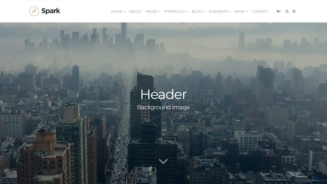 How To Add Header Background Images In WordPress Youtube