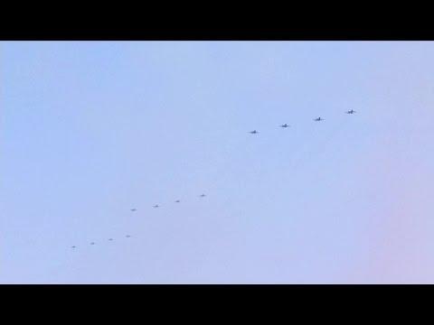 SMG Shanghai TV - China Victory Day Parade 2015 : Full Air Force Segment [720p]