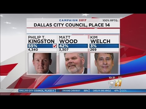 Many Candidates Keep Seats In Dallas City Council Elections