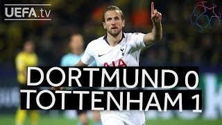 DORTMUND 0-1 TOTTENHAM #UCL HIGHLIGHTS