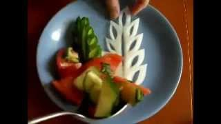 Украшение салатов, закусок и тортов