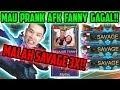 PRANK FANNY AFK GAGAL, MALAH SAVAGE 3X!! (SAVAGE, SAVAGE, SAVAGE!!) - Mobile Legends