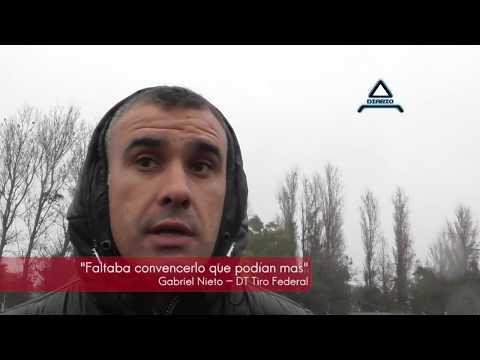 Gabriel Nieto DT de Tiro Federal y Gimnasia