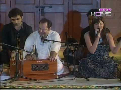 teri meri meri teri prem kahani  p.t.v  rahat fateh ali khan show live Mp3