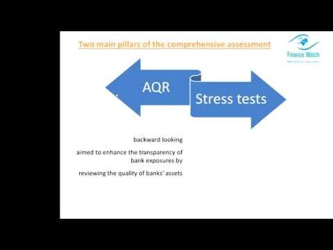 EU Banks stress tests - why taxpayers are at risk? - Finance Watch Webinar