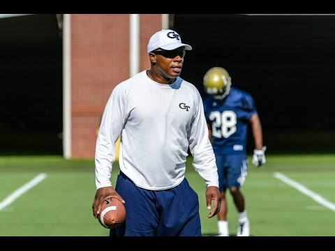 #GaTech Football: Field Pass with Coach Joe Speed
