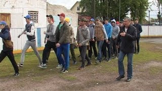 В Шадринськ проходять п'ятиденні військові збори старшокласників