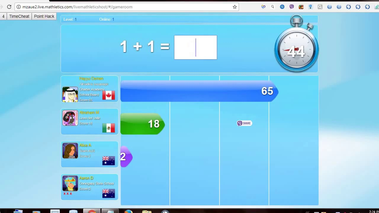 List of Synonyms and Antonyms of the Word: Mathletics Hack