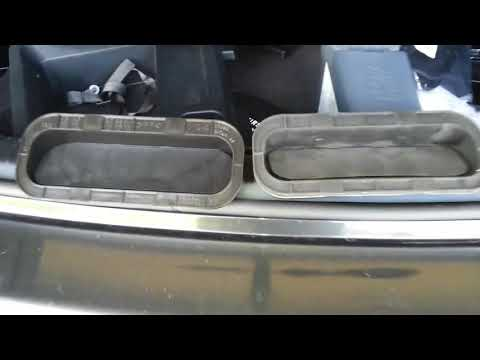 DIY: Lexus ISF IS250 IS350 rear duct vent replacement