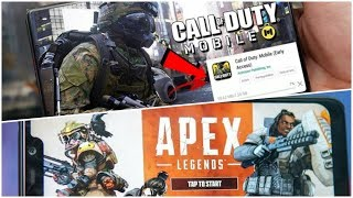 Apex Legends Mobile | Call Of Duty Mobile New Release Date