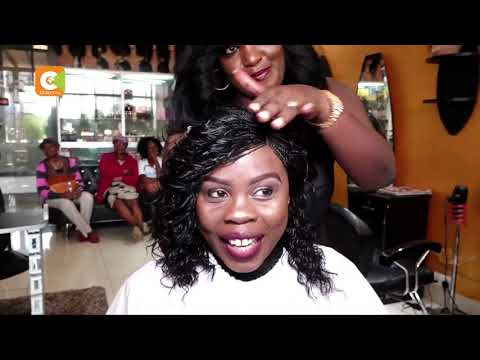 HER SAY | Diana Akech Adorns Wigs To Women Cancer Patients