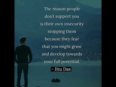 Support Of People Quote By Jitu Das Quotes Youtube