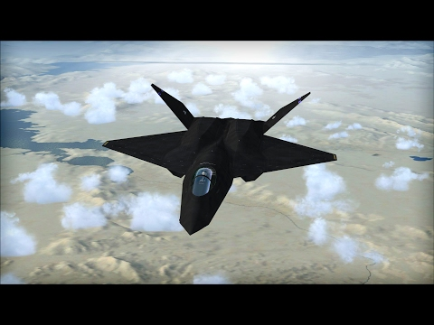 US Air Force Northrop YF 23, Stealth fighter technology Black Widow II