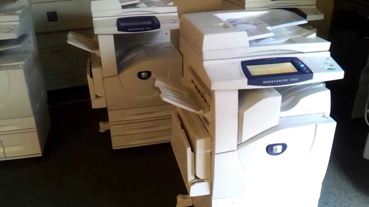 xerox copiers for sale 80 off on low meter copiers printers network ready copy machines youtube - Color Copy Machine